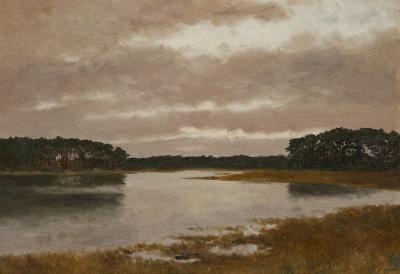 Lockwood De Forest Marsh Scene California