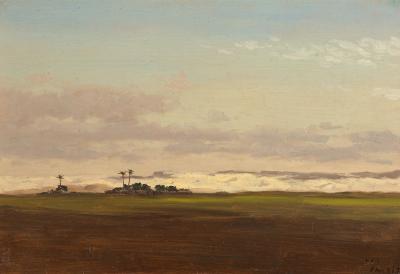 Lockwood De Forest Nile Valley Landscape