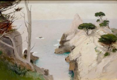 Lockwood De Forest The Pinnacle Point Lobos II Monterey