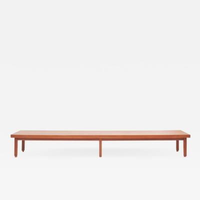 Long Bench in Teak Denmark 1960s
