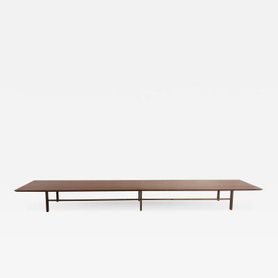 Long Low Coffee Table in the style of Paul McCobb