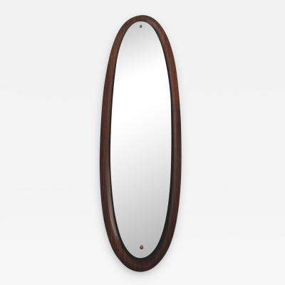 Long and Narrow Mirror in Rosewood