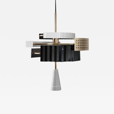 Lorenza Bozzoli Wallie Chandelier by Lorenza Bozzoli for Tato