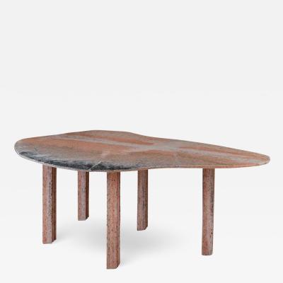 Lorenzo Bini Sculptural Pear Marble Dining Table Lorenzo Bini