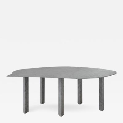 Lorenzo Bini Sculptural White Marble Table Lorenzo Bini