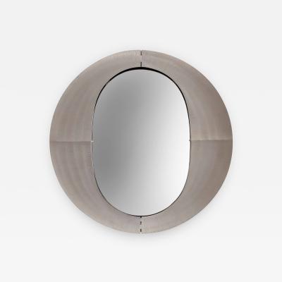 Lorenzo Burchiellaro An Italian Etched Aluminum Mirror