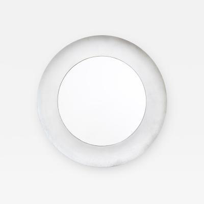 Lorenzo Burchiellaro Lorenzo Burchiellaro Circular Mirror with die cast Aluminium Frame