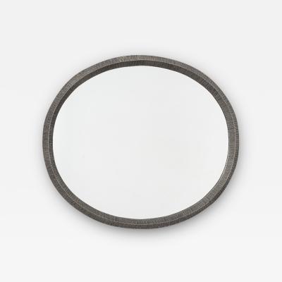 Lorenzo Burchiellaro Lorenzo Burchiellaro cast aluminium mirror Italy c1970