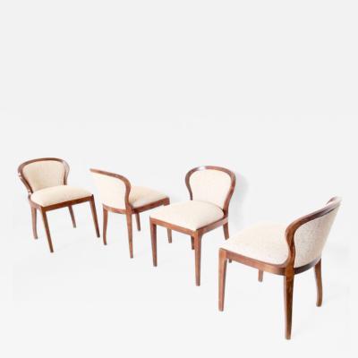 Lorenzo Forges Davanzati Set of Four Chairs mod Stradivarius by Lorenzo Forges Davanzati for Elam 1961