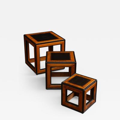 Lorenzo Renzo Mongiardino Nesting Cube Tables