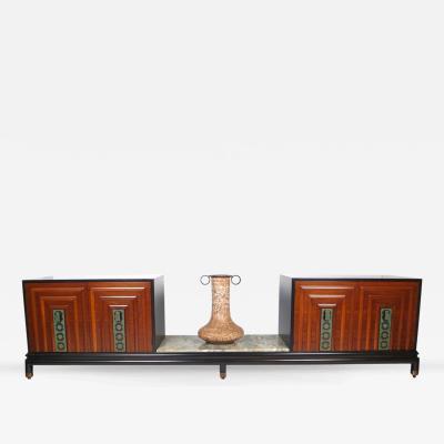 Lorenzo Renzo Rutili Exquisite Renzo Rutili Custom Cabinet Ensemble