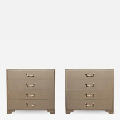 Lorin Jackson A pair of Modernist dressers designed by Lorin Jackson for Grosfeld House 1950s