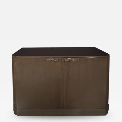 Lorin Jackson Grey Walnut Sideboard or Cabinet Designed by Lorin Jackson for Grosfeld House