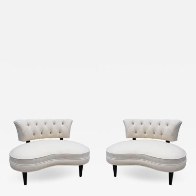 Lorin Jackson Pair of Lorin Jackson Grosfeld House Club Chairs