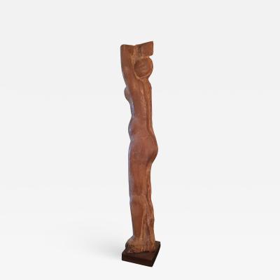 Lorrie H Mrs Lorrie de Creeft Goulet Standing Nude