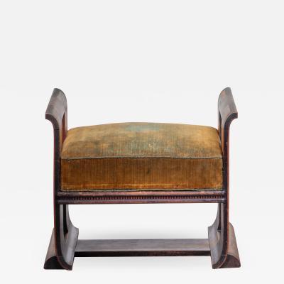 Louis Bogtman Louis Bogtman Amsterdam School oak stool