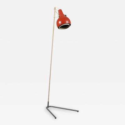 Louis Christiaan Kalff Louis Kalff rare floor lamp Model NX29 by Philips 1950s