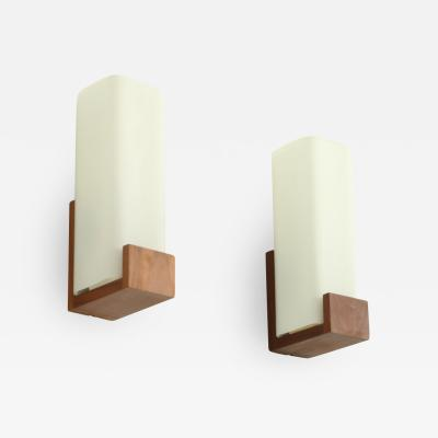 Louis Christiaan Kalff Pair of Auray 80 030 Sconces by Louis Kalff for Philips