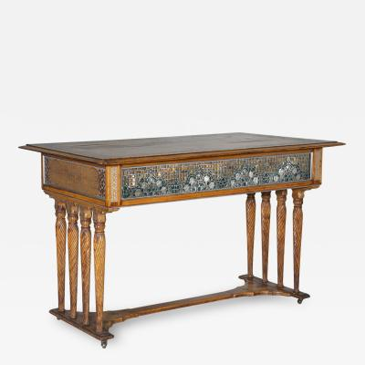 Louis Comfort Tiffany Rare Aesthetic Movement Center Table