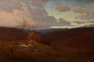 Louis Comfort Tiffany The First Fall Day