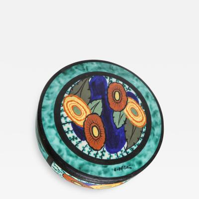 Louis Dage Louis Dage Lidded Ceramic Box