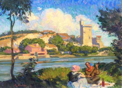 Louis J Endres Villeneuve les Avignon