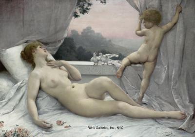 Louis Joseph Courtat Le R veil de V nus The Awakening of Venus