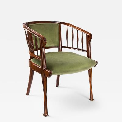 Louis Majorelle French Armchairs by Louis Majorelle