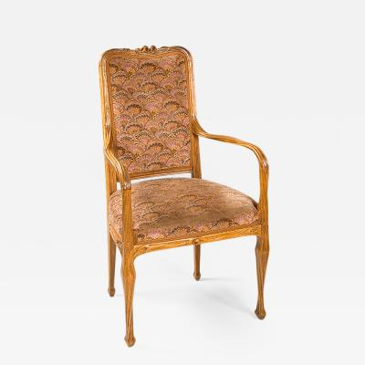 Louis Majorelle French Art Nouveau Armchair