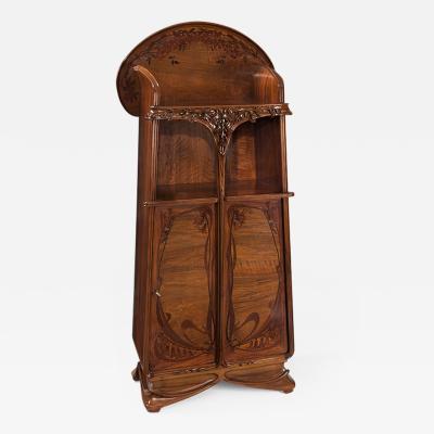 Louis Majorelle French Art Nouveau Cabinet by Louis Majorelle