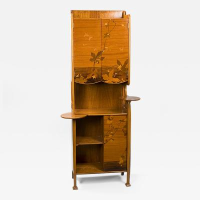 Louis Majorelle French Art Nouveau Cabinet by Majorelle