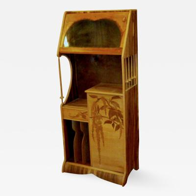Louis Majorelle Louis Majorelle Cabinet with Wisteria Marquetry