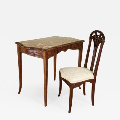 Louis Majorelle Louis Majorelle Desk and Chair