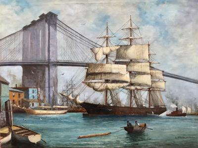 Louis Papaluca Tall Ship Brooklyn Bridge