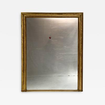 Louis Philippe Gilt Wood Mirror 67 25 High x 52 25 Wide