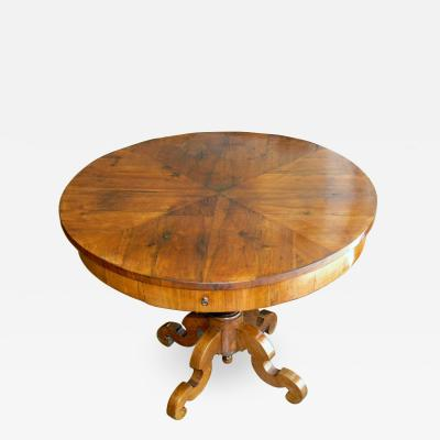 Louis Philippe Walnut Table Circa 1850