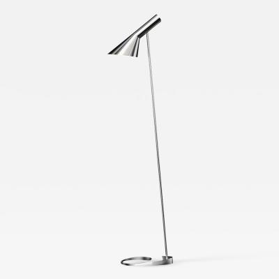 Louis Poulsen Arne Jacobsen AJ Floor Lamp in Stainless Steel for Louis Poulsen