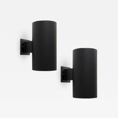 Louis Poulsen Cylinder Wall Lights by Ella John Meiling for Louis Poulsen 1970