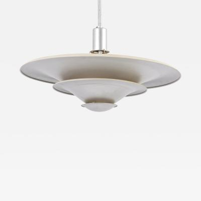 Louis Poulsen Early Aluminum Pendant Lamp Model A Lamp by Louis Poulsen