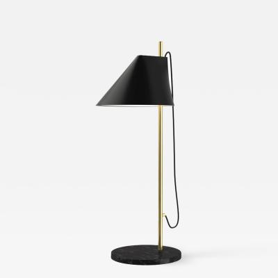Louis Poulsen GamFratesi Brass and Marble Yuh Table Lamp for Louis Poulsen in White or Black