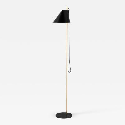 Louis Poulsen GamFratesi YUH Brass Marble Floor Lamp for Louis Poulsen