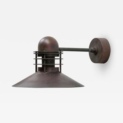 Louis Poulsen Louis Poulsen Copper Outdoor Lamp
