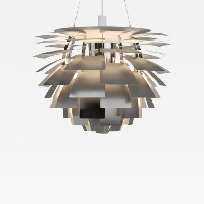 Louis Poulsen Monumental Poul Henningsen Steel PH Artichoke Chandelier for Louis Poulsen