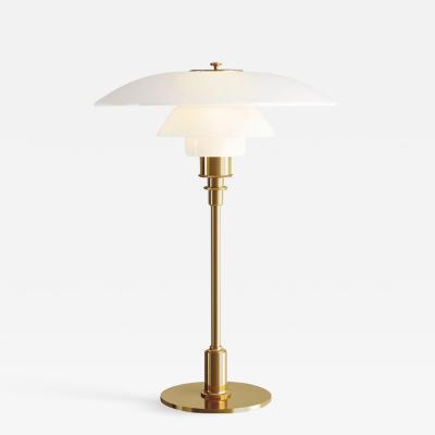 Louis Poulsen Poul Henningsen Brass and Glass PH 3 1 2 2 1 2 Table Lamp for Louis Poulsen