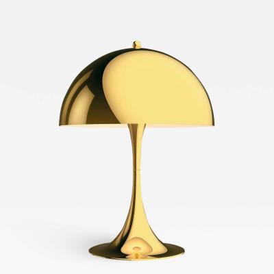 Louis Poulsen Verner Panton Panthella 320 Table Lamp in Brass for Louis Poulsen