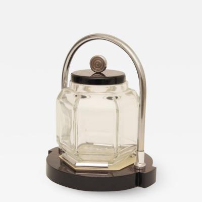 Louis Prodhon Art Deco Ice Bucket by Louis Prodhon