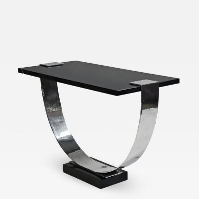 Louis Sognot Art Deco console table by Louis Sognot