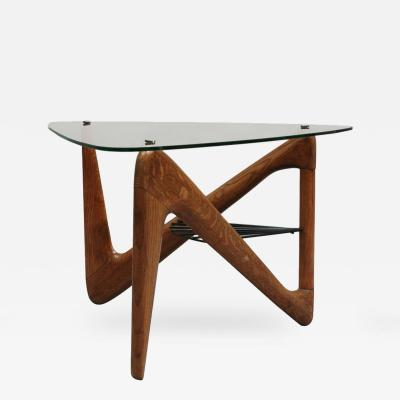 Louis Sognot French Art Deco Side Table by Louis Sognot