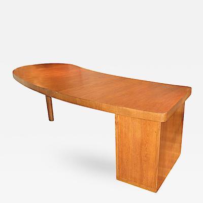 Louis Sognot Louis Sognot Architect Modernist Art Deco Commissioned Oak Desk