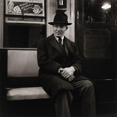 Louis Stettner Louis Stettner Subway New York 1946 printed ca 1990